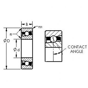 AST H71930C/HQ1 angular contact ball bearings