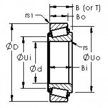 AST 575/572 tapered roller bearings