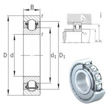 12 mm x 32 mm x 10 mm  INA BXRE201-2Z needle roller bearings