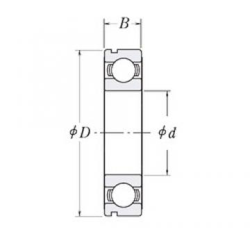 170 mm x 215 mm x 22 mm  CYSD 6834N deep groove ball bearings