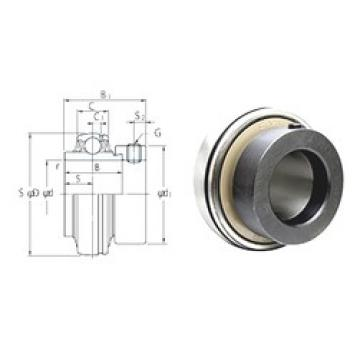 70 mm x 125 mm x 68,2 mm  FYH NA214 deep groove ball bearings