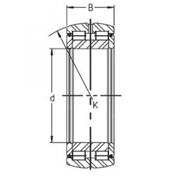 220 mm x 340 mm x 125 mm  INA SL05 044 E cylindrical roller bearings