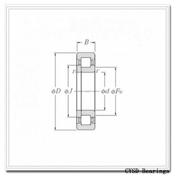 95 mm x 145 mm x 24 mm  CYSD NU1019 cylindrical roller bearings #1 image
